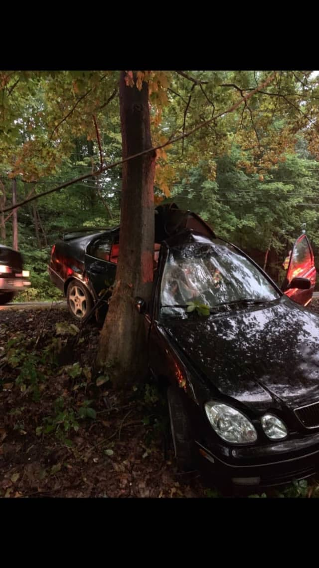 A 19-year-old teen is in critical condition after losing control of her vehicle and hitting a tree.