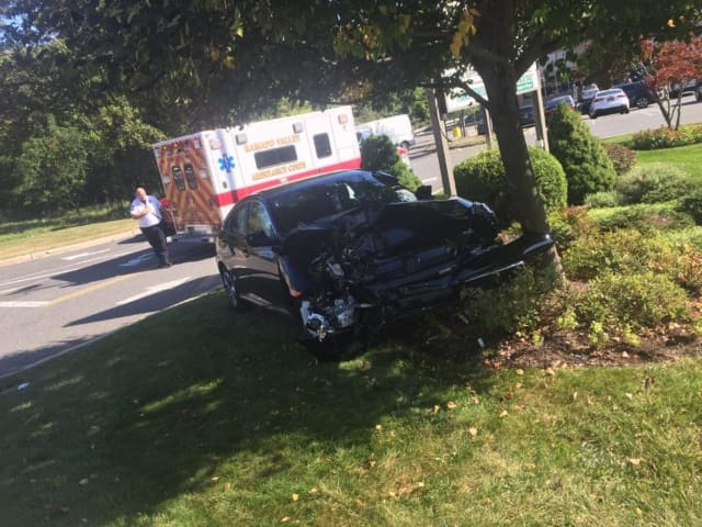 A woman was killed after losing control of her vehicle.
