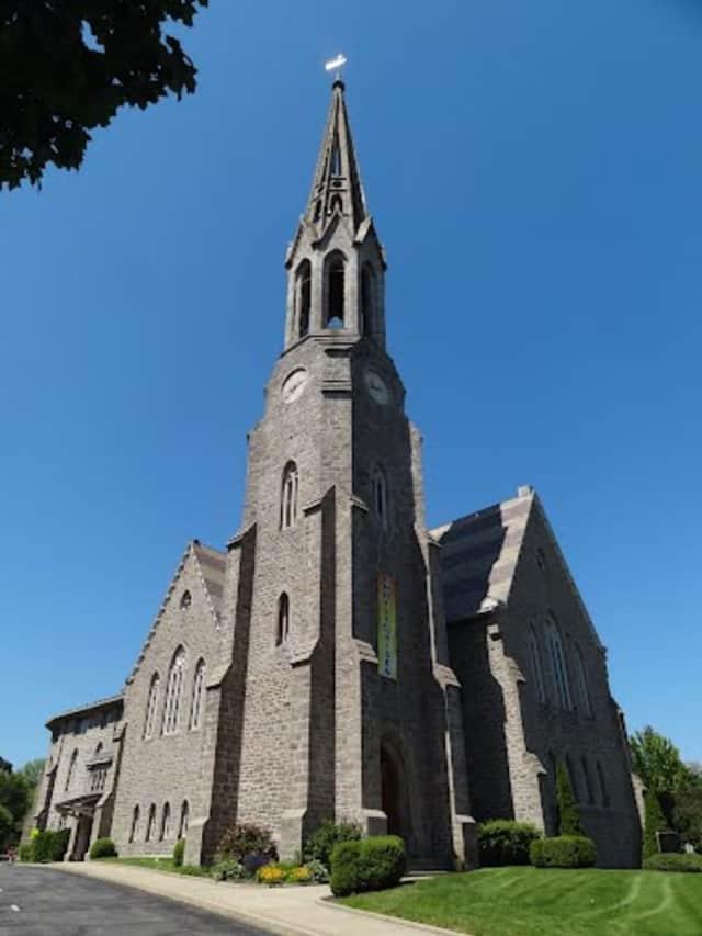 Second Congregational Church in Greenwich.