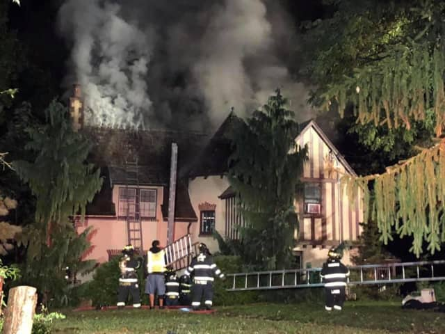 A house fire broke out in Ossining overnight.