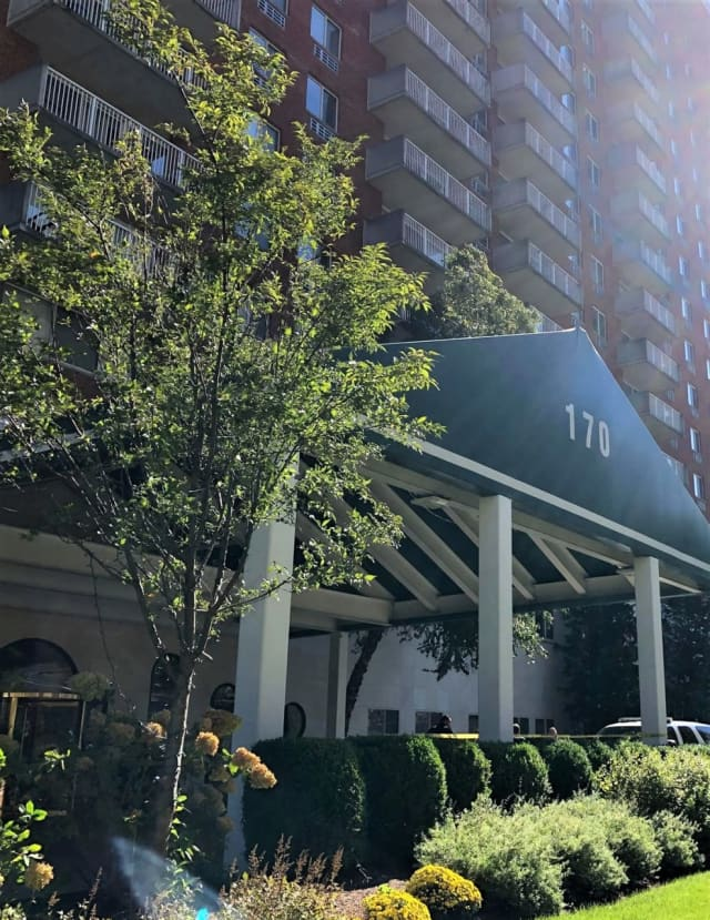 A good Samaritan conducted CPR on the victim outside the Excelsior II Luxury Apartments building on Prospect Avenue in Hackensack around 1 p.m., police said.