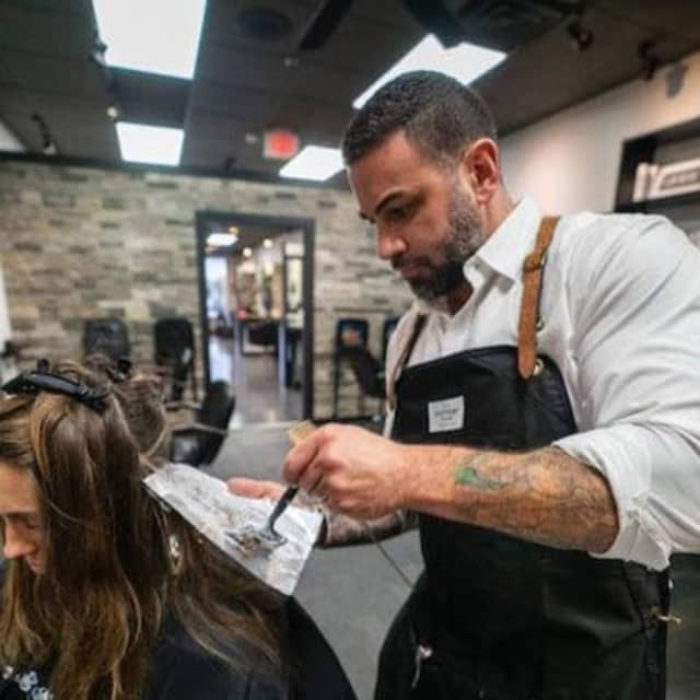 Nick Mirabella, one co-owner of Brick and Mirror Beauty Bar, plans on reopening June 1.