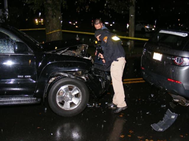 Oct. 22 DWI crash at Linwood & Maple.