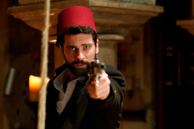 "Onur Tuna in ""Filinta."" Photographs courtesy Es Films."