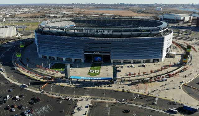 The victim was hit over the head with a bottle outside the 2019 Cortaca Jug at MetLife Stadium.