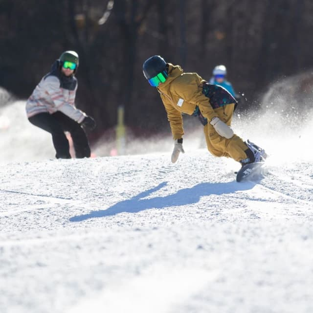 Skiers and snow boarders took to Mountain Creek's slopes in mid-November, the resort's earliest opening ever.