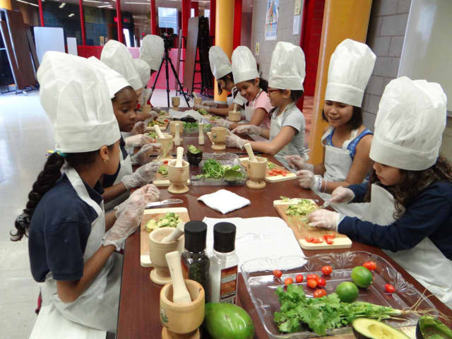 A cooking club takes place on Mondays at the Johnson Library in Hackensack.