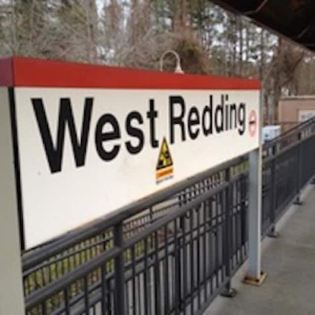 The accident occurred near the West Redding train station.