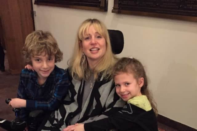 Lesley Ellis Linker has been battling MS for more than a decade and could be forced from her Ridgewood home.