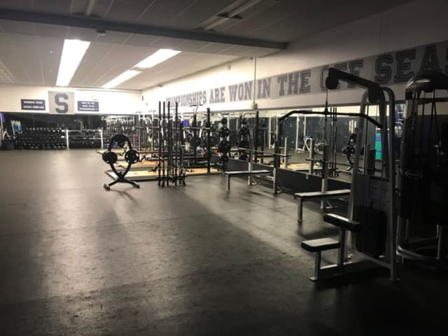 A capital campaign is underway to replace equipment and upgrade the strength training facility at Staples High School Fitness Center.