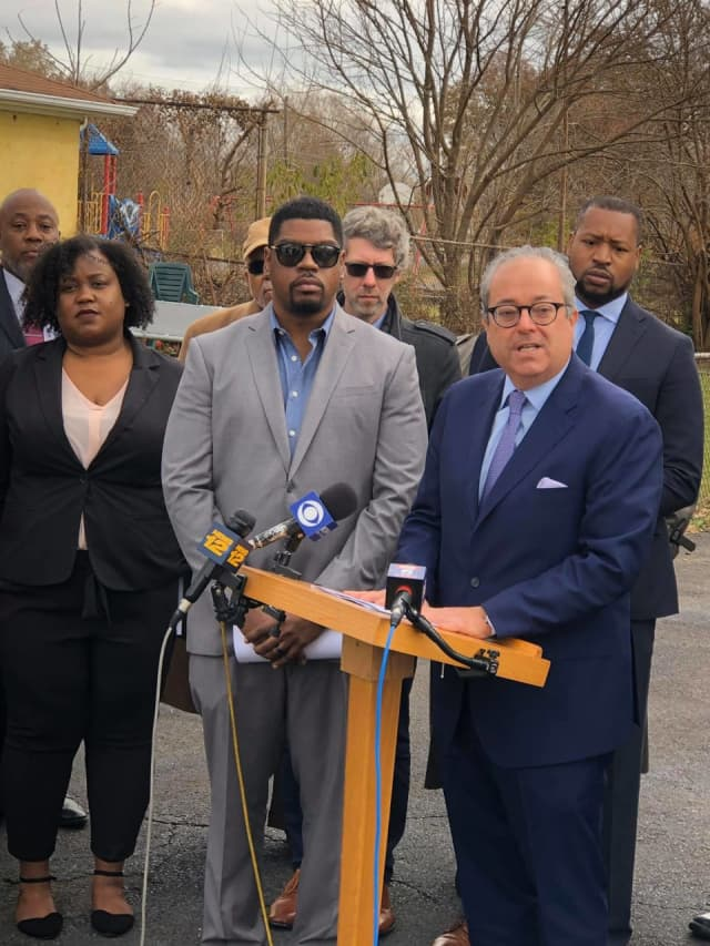 Two African-Americans are suing the city of Linden for alleged racist treatment they suffered while working as firefighters