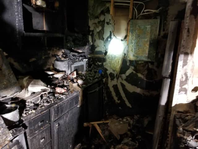 A fire at a hotel in South Brunswick was quickly extinguished Thursday night, authorities said