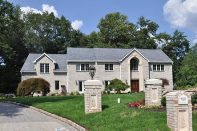 This home, at 7 Orchard Lane in Old Tappan, is listed for $3.3 million.