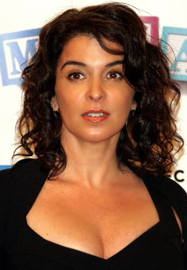 "Annabella Sciorra played Gloria Trillo on HBO hit show ""The Sopranos."" Trillo was a car saleswoman at a Fairfield dealership."