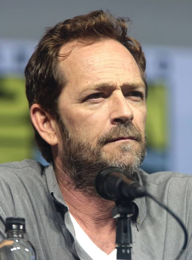 American actor Luke Perry, who died of complications following a massive ischemic stroke on March 4, 2019