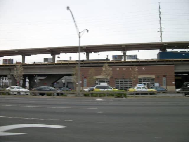 Merrick Train Station.