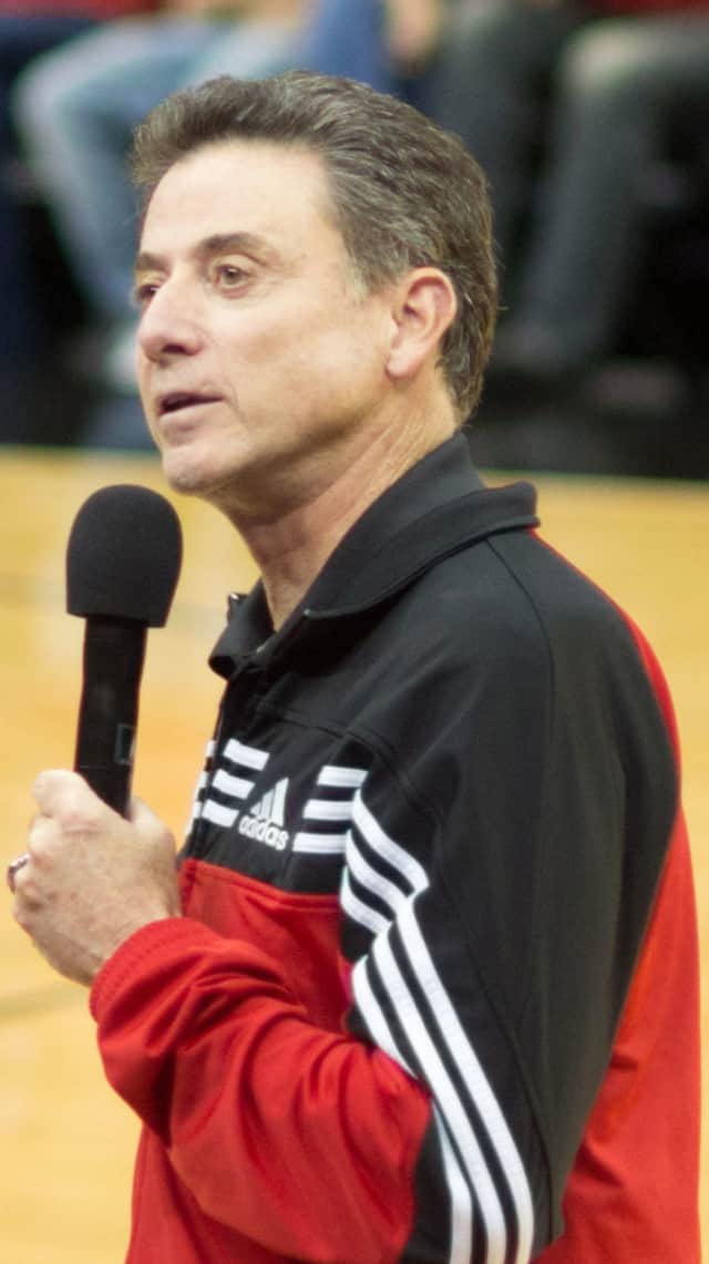 University of Louisville basketball coach Rick Pitino, who has maintained homes in Northern Westchester since coaching the Knicks in the late 1980s.
