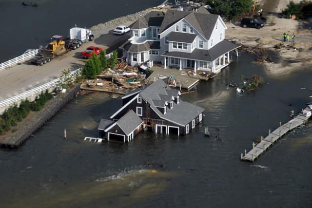 Hurricane Sandy left widespread damage along the New Jersey coastline, and experts warn state officials need to make sure industrial areas are protected the next time a major storm hits.