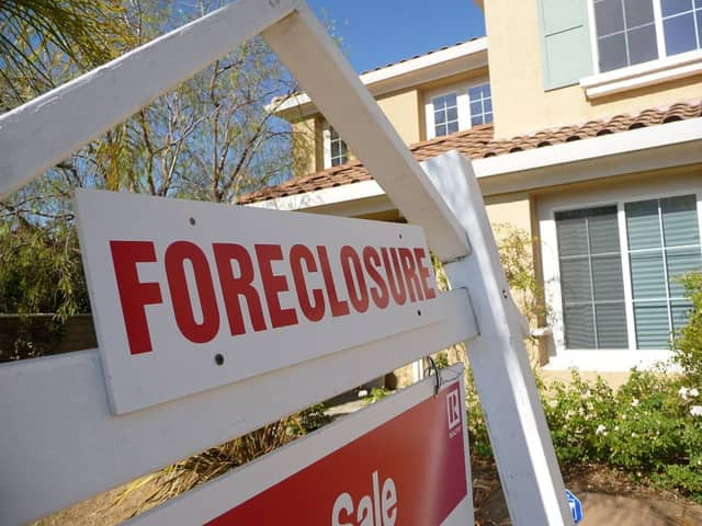 New York foreclosure auctions are at an 11-year high, counter to an 11-year low nationwide.