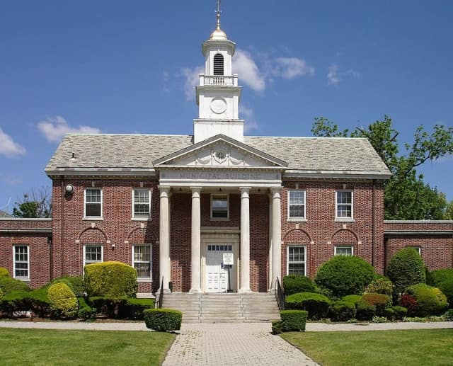 The Teaneck municipal building.