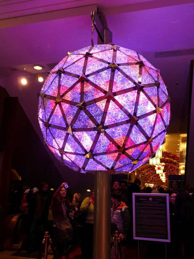 Yorktown will drop a ball as part of the town's New Year's Eve celebration.