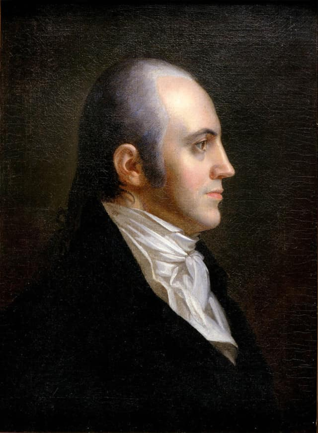C.H. Booth Library will host a discussion on Aaron Burr.