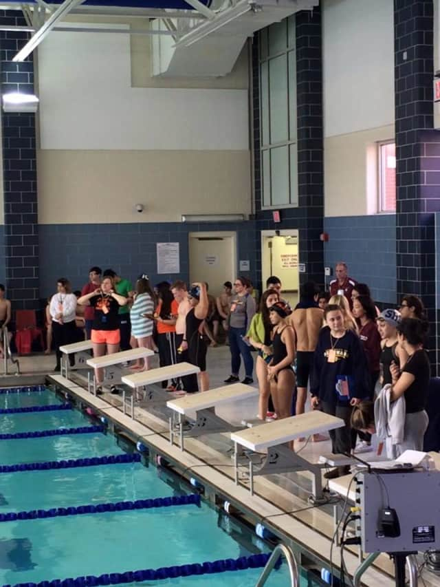 The Rutherford Bulldogs boy's swimming team defended its NJIC Championship Saturday at Lyndhurst High School.