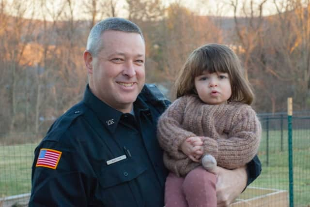East Fishkill Police officer Martyn was credited with saving a child's life.