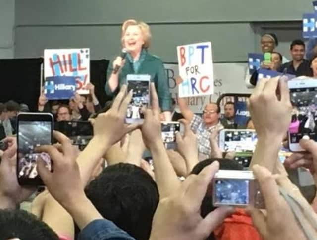 Hillary Clinton in Bridgeport