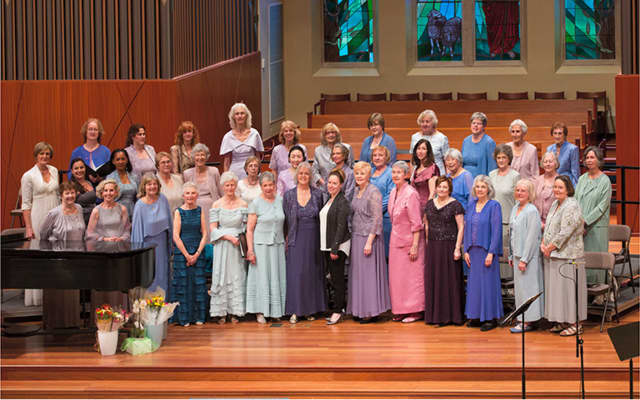 The Ridgewood Choral will perform April 21.