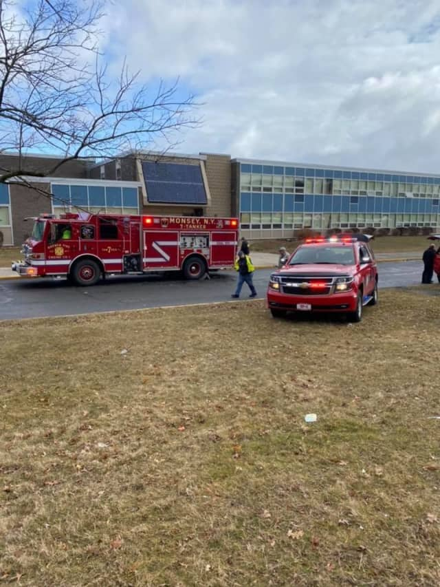 Ramapo High School has been evacuated after students and staff began feeling ill from an unknown chemical agent.