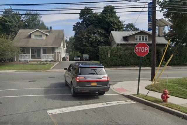 Lincoln Avenue coming from Van Winkle Avenue in Glen Rock.