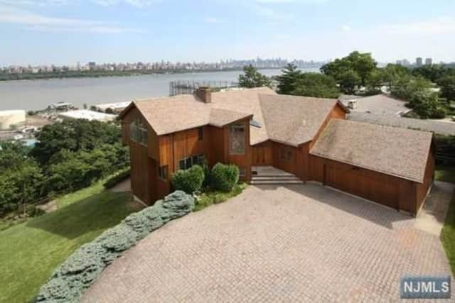 The home at 8 Riverview Ave., Cliffside Park, is on sale for $2.8 million