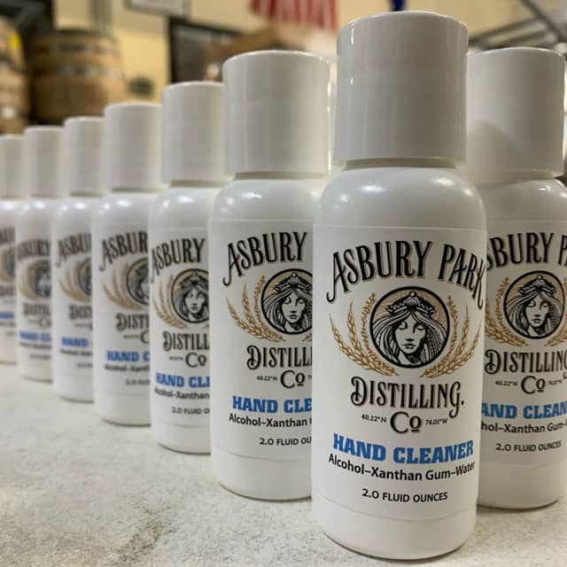 Asbury Park Distilling Co. has halted spirit production in favor of creating hand sanitizer.