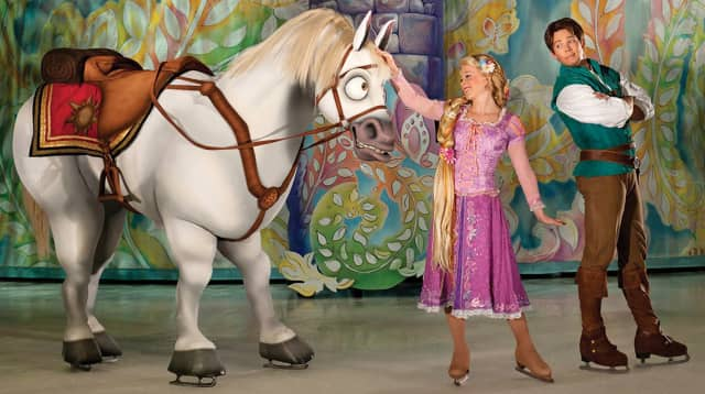 The weekend Disney on Ice shows in Bridgeport will be performed.