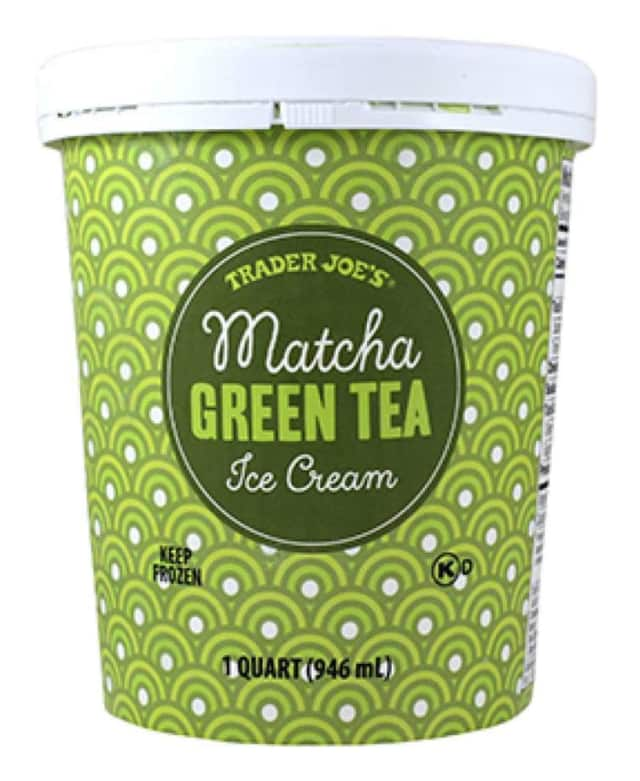 Trader Joe's recalled Matcha Green Tea Ice Cream.