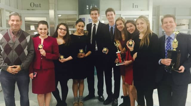 The Pelham Memorial High School Forensics Speech Team performed well at the tournament.