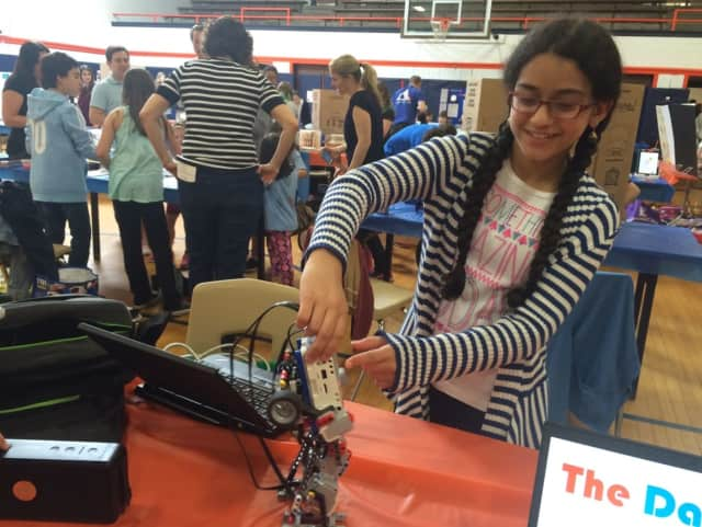 More than 300 students are participating in Chappaqua's STEM Fest.