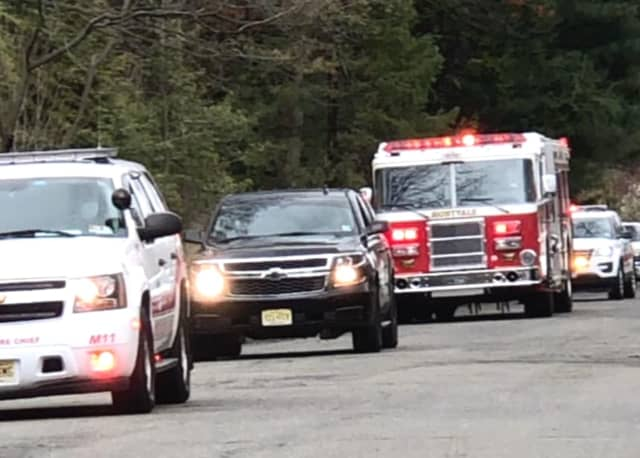 Initial reports of the fire at St. Joseph's Regional High School in Montvale were sketchy.