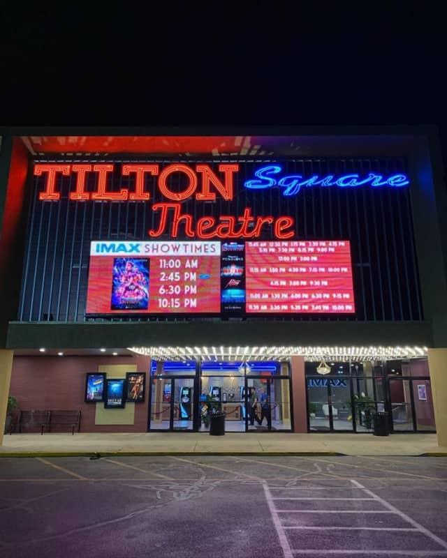 The Tilton Square Theatre in Northfield.