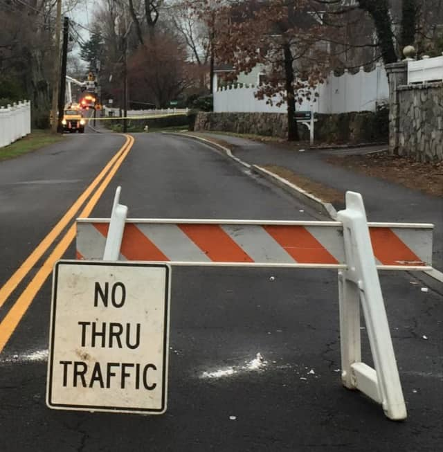 Residents of Riverside Avenue in Greenwich should be prepared for the road to be closed while workers replace a broken utility pole.