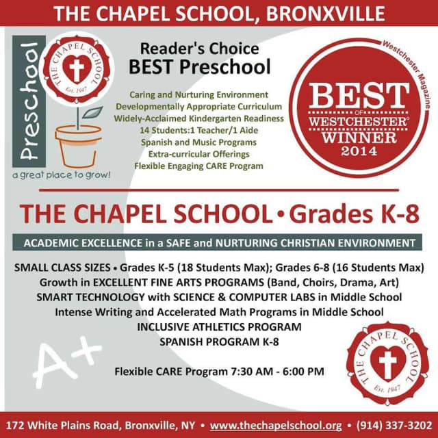 The Chapel School has open houses on two dates.