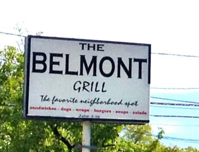 The Belmont Grill.
