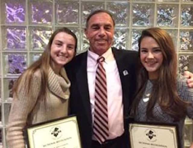 RHS varsity soccer players Hailey and Riley Ricciardi and Emma LaFrance were named to various All State teams by the New Jersey Girls Soccer Coaches Association (NJGSCA).