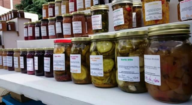 Fresh pickles at a past Handmade Market