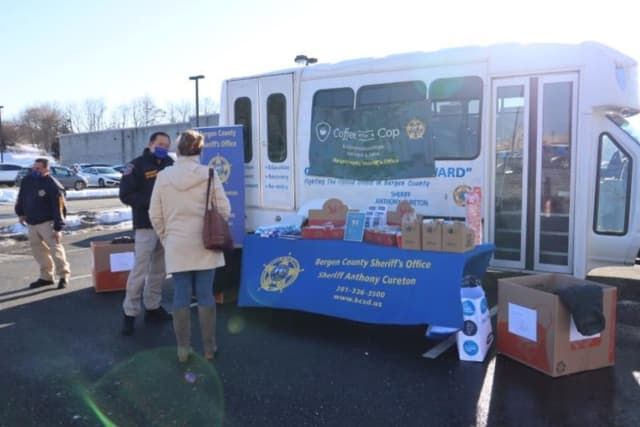 The Bergen County Sheriff's Coat Drive