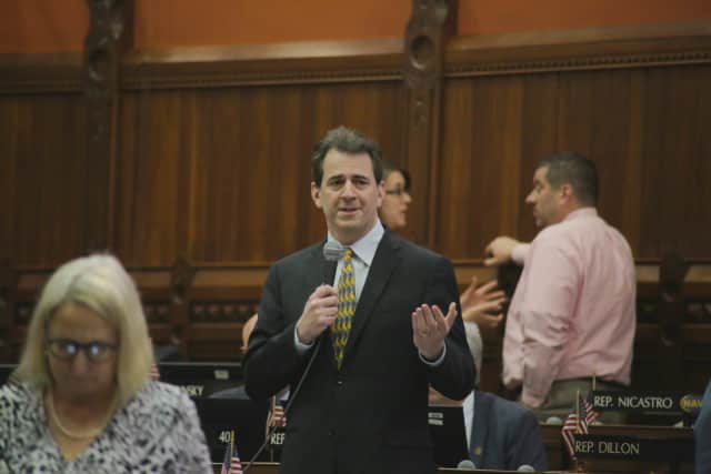 "A bill championed by State Rep. Chris Perone would allow manufacturers in the state to tag locally produced items with the designation ""Connecticut- Made."""