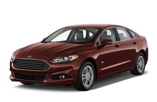 2016 Ford Fusion Titanium Hybrid is one of the best deals this week on Daily Voice Autos.