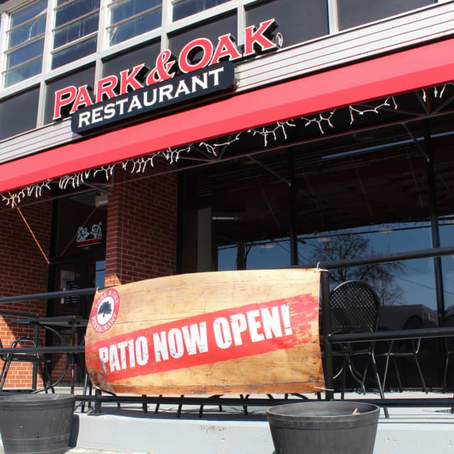 Park and Oak had been open for outdoor dining.
