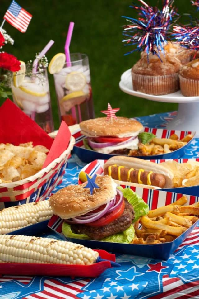 Barbecues are a July 4th favorite.